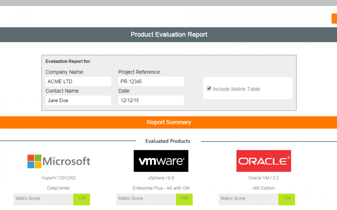 New – 'Print Report' now available! Export your Comparison Results.