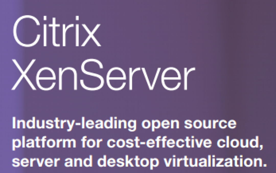 Virtualization Comparison updated with latest Citrix XenServer 7.1 – check it out!