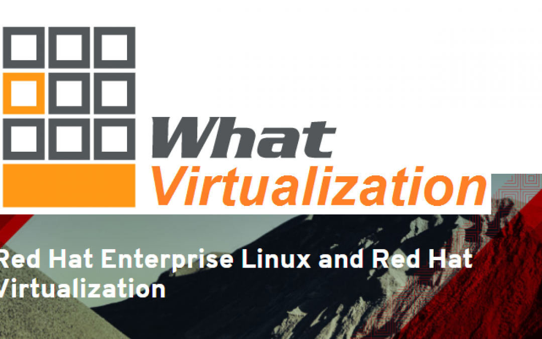 "What Virtualization Platform 2017? Red Hat moves into ""Top 3"" with RHV 4.1!"