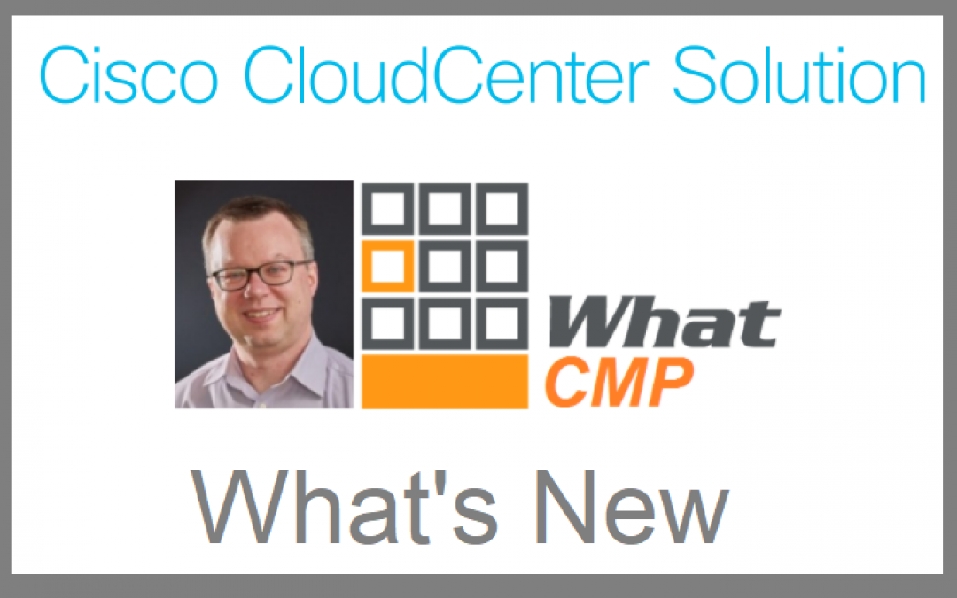 Cisco CloudCenter Solidifies Place as leading CMP Solution