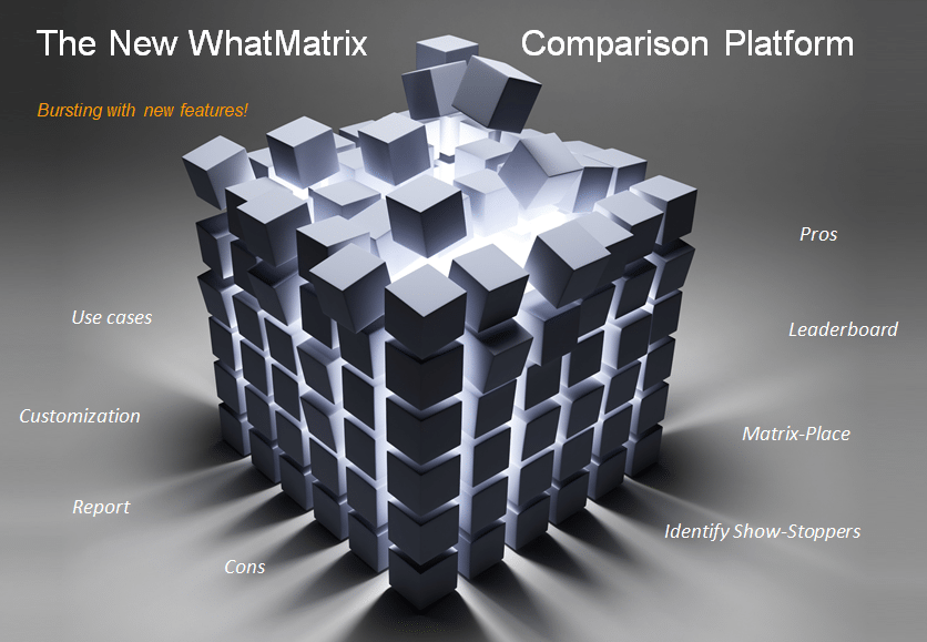 The All-New WhatMatrix Comparison Platform is here!