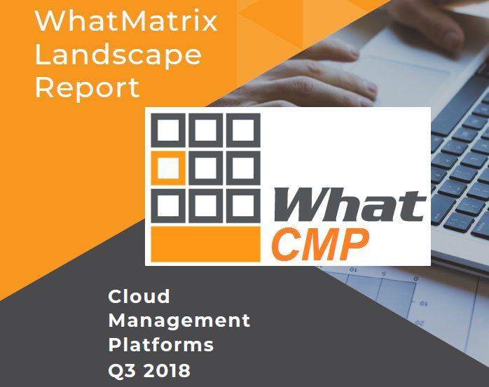 The WhatMatrix CMP Landscape Report Q3 2018 is here!