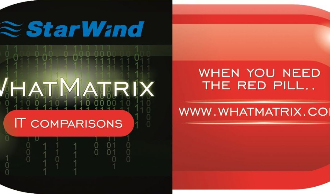 StarWind HyperConverged Appliance enters the WhatMatrix